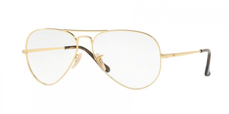Okulary korekcyjne Ray-Ban RX 6489 2500 55